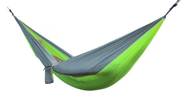 2 People Portable Parachute Hammock for outdoor CampingFruit green with gray edges 270 140 cm nm38p7gaoej0uqaymluzm6c3sbvygw8h3vyg4za6d4 - Гаджеты